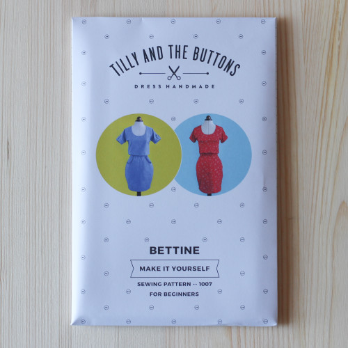 Bettine Dress by Tilly and the Buttons | Blackbird Fabrics