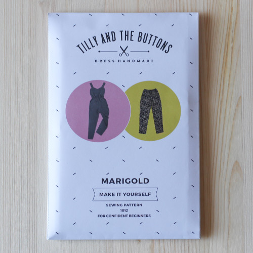 Marigold Jumpsuit & Trousers by Tilly and the Buttons | Blackbird Fabrics