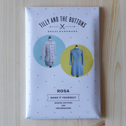 Rosa Shirt and Shirt Dress by Tilly and the Buttons | Blackbird Fabrics