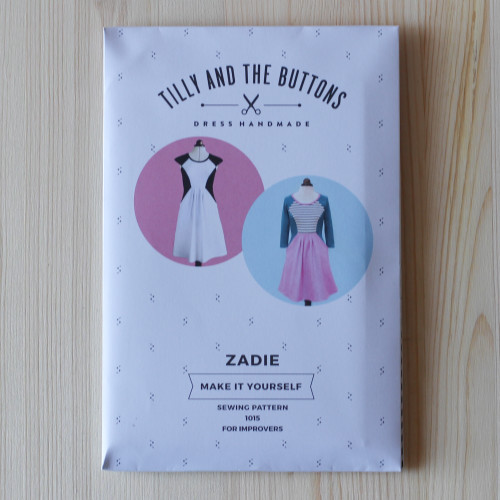 Zadie Dress by Tilly and the Buttons | Blackbird Fabrics