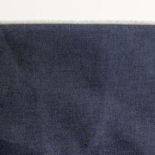 10oz Cone Mills S-Gene Stretch Denim - Dark Indigo | Blackbird Fabrics
