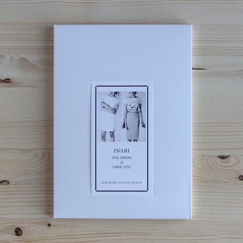 Inari Tee Dress & Crop Tee by Named Clothing   Blackbird Fabrics