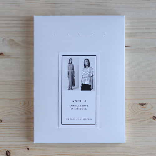 Anneli Double Front Dress & Tee by Named Clothing | Blackbird Fabrics