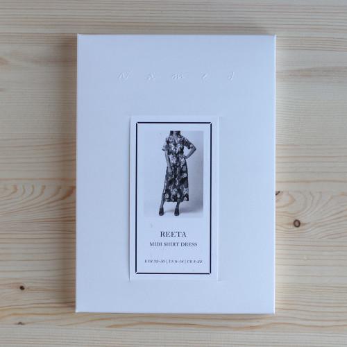 Reeta Midi Shirt Dress by Named Clothing   Blackbird Fabrics