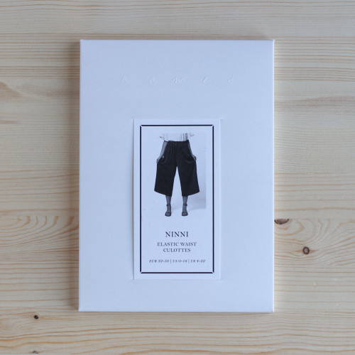 Ninni Elastic Waist Culottes by Named Clothing | Blackbird Fabrics