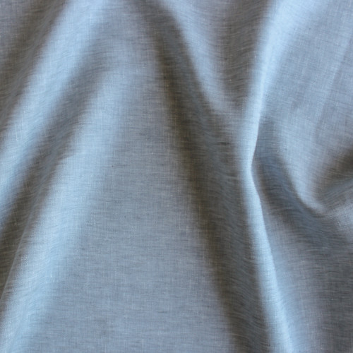 Linen Chambray - Grey | Blackbird Fabrics