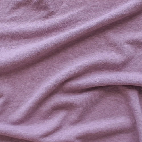 Hemp & Organic Cotton Jersey - Dusty Lilac | Blackbird Fabrics