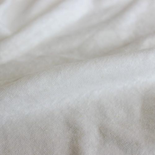 Hemp & Organic Cotton Jersey - Ecru | Blackbird Fabrics