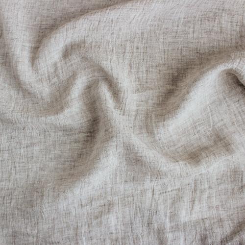 Crinkle Linen - Oatmeal | Blackbird Fabrics