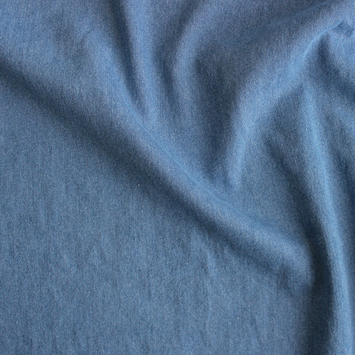 10oz Cotton Denim - Light Blue Wash | Blackbird Fabrics