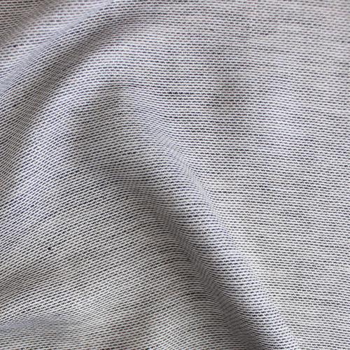 Dash Linen - Black/White | Blackbird Fabrics