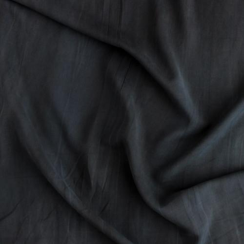 Sandwashed Rayon - Black | Blackbird Fabrics