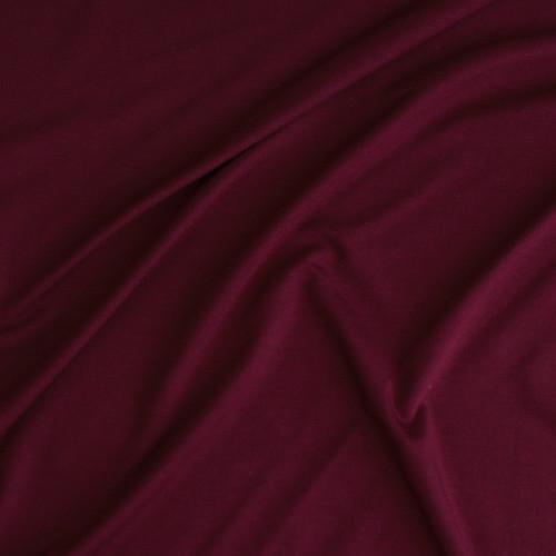 Bamboo Jersey Knit - Port | Blackbird Fabrics