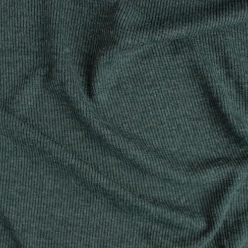 Melange Rib Sweater Knit - Spruce | Blackbird Fabrics