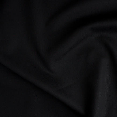 8oz Japanese Cotton Twill - Black | Blackbird Fabrics