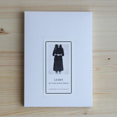 Lempi Button Down Dress by Named Clothing   Blackbird Fabrics
