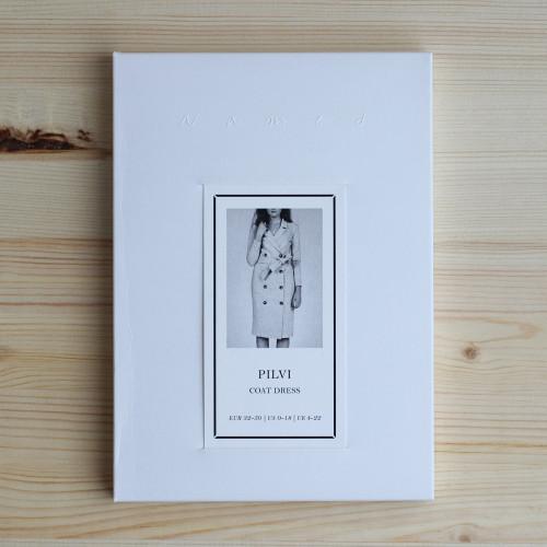 Pilvi Coat Dress by Named Clothing   Blackbird Fabrics