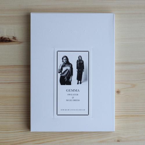 Gemma Sweater & Maxi Dress by Named Clothing   Blackbird Fabrics