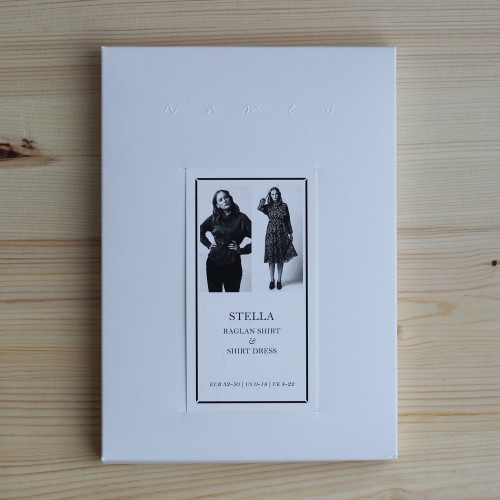 Stella Raglan Shirt & Shirt Dress by Named Clothing   Blackbird Fabrics