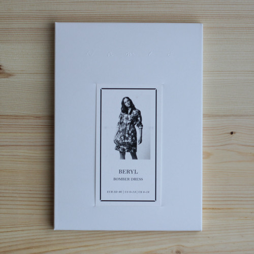 Beryl Bomber Dress by Named Clothing   Blackbird Fabrics