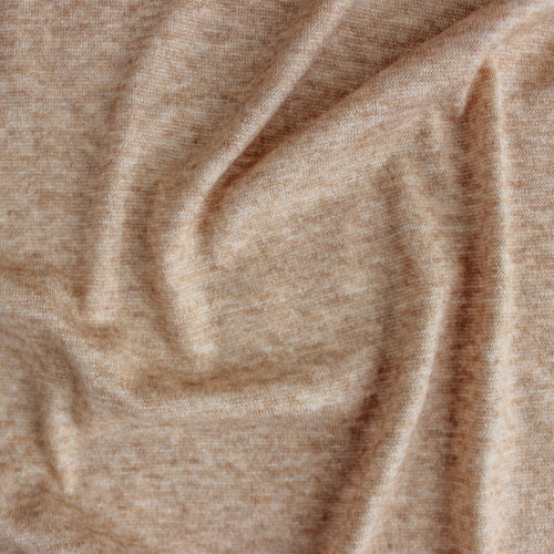 Cloud Sweater Knit - Camel | Blackbird Fabrics