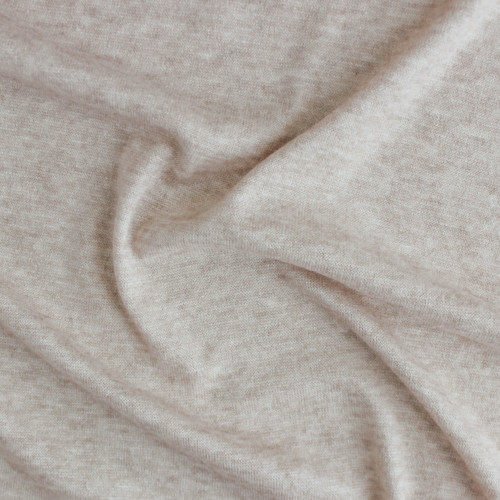 Cloud Sweater Knit - Oatmeal | Blackbird Fabrics