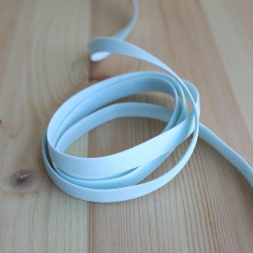 "3/8"" (9mm) Elastic Strapping - Sea Foam - 1 meter"