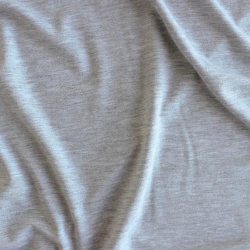 Modal Jersey Knit - Light Heather Grey | Blackbird Fabrics