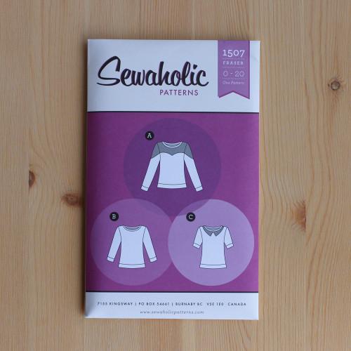 Fraser Sweatshirt by Sewaholic Patterns | Blackbird Fabrics