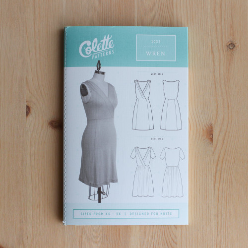 Wren by Colette Patterns | Blackbird Fabrics