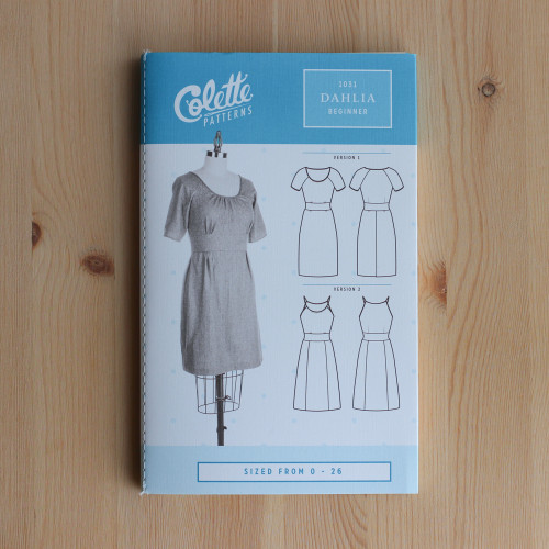 Dahlia by Colette Patterns | Blackbird Fabrics