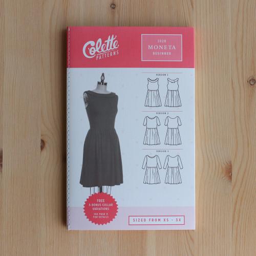Moneta by Colette Patterns | Blackbird Fabrics