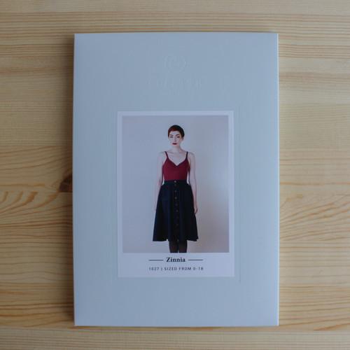 Zinnia by Colette Patterns | Blackbird Fabrics