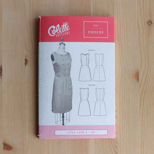 Phoebe by Colette Patterns | Blackbird Fabrics