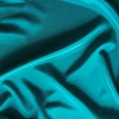 Silk Crepe de Chine - Teal - 1/2 meter