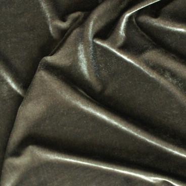 Stretch Velvet II - Olive | Blackbird Fabrics