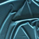Stretch Velvet II - Teal | Blackbird Fabrics
