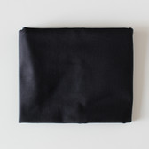 Remnant - 55cm - Cotton & Rayon Blend Denim - Black | Blackbird Fabrics