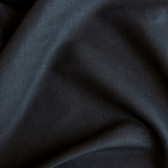 Stretch Linen Viscose - Black | Blackbird Fabrics