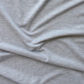 Bamboo Cotton Jersey Knit - Light Heathered Grey | Blackbird Fabrics