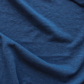 Hemp & Organic Cotton Jersey - Prussian Blue | Blackbird Fabrics