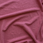Hemp & Organic Cotton Jersey - Rouge | Blackbird Fabrics