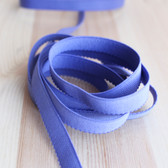 "1/2"" (12mm) Plush Back Elastic - Iris - 1 meter"