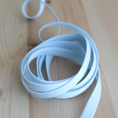 "3/8"" (9mm) Elastic Strapping - Pale Aqua - 1 meter"
