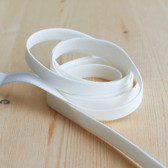 "1/2"" (12mm) Elastic Strapping - Ivory - 1 meter"