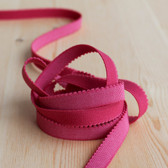"1/2"" (12mm) Plush Back Elastic - Cherry - 1 meter"