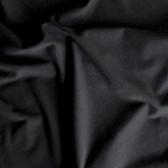 Bamboo Cotton Jersey Knit - Black | Blackbird Fabrics