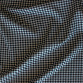 Gingham Cotton Shirting - Black/Grey | Blackbird Fabrics