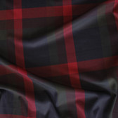 Mid-Weight Oxford Plaid - Red/Forest/Navy | Blackbird Fabrics
