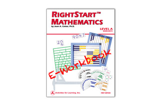 RightStart™ Mathematics Level A Worksheets E-Book